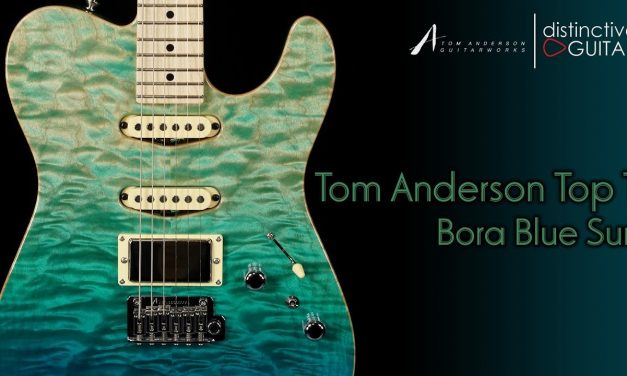 Tom Anderson Top T | Bora Blue Surf HSS