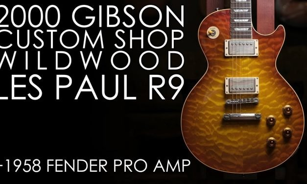 """""""Pick of the Day"""" – 2000 Gibson Les Paul Wildwood R9 and 1958 Fender Tweed Pro Amp"""