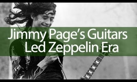 Jimmy Page a history of his guitars Part Two (Led Zeppelin)