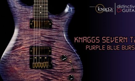 Knaggs Severn Tier 2 | Purple/Blue Burst w/ Lollar Firebird Pickups