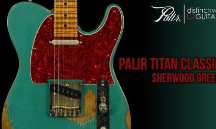 Palir Titan Classic | Sherwood Green w/ Tortoise Binding