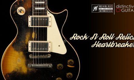 Rock N Roll Relics Heartbreaker | Black over Burst