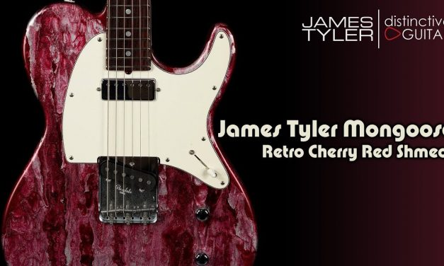 James Tyler Mongoose Retro | Cherry Red Shmear