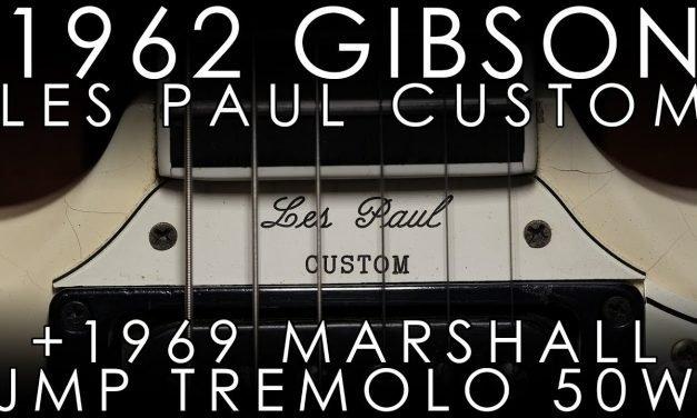 """Pick of the Day"" – 1962 Gibson Les Paul Custom and 1969 Marshall Trem 50 Bluesbreaker"