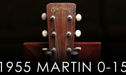"""Pick of the Day"" – 1955 Martin 0-15"