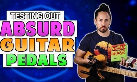 Testing 5 ABSURD Guitar Pedals