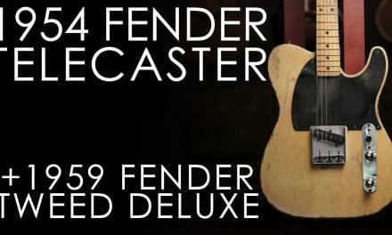 """Pick of the Day"" – 1954 Fender Esquire and 1959 Fender Deluxe"