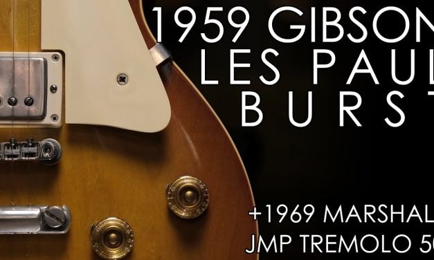 """""""Pick of the Day"""" – 1959 Gibson Les Paul Standard and 1969 Marshall JMP Tremolo 50"""