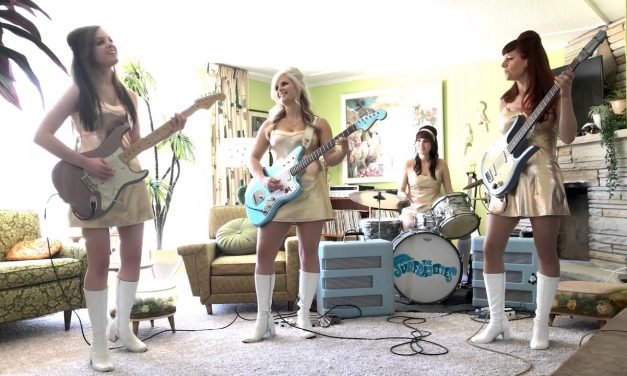 The Surfrajettes – Britney Spears Toxic Surf Cover