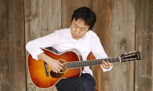 """Hiroya Tsukamoto, """"Another Great Day To Be Alive""""   Live at Elderly Instruments"""