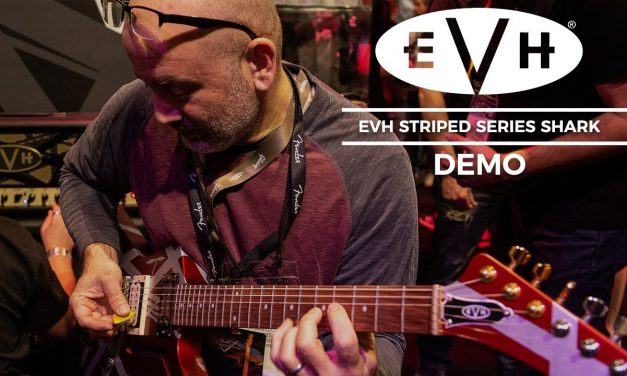 EVH Striped Series Shark Guitar Demo!