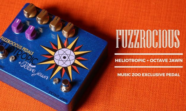 Fuzzrocious Heliotropic + Octave Jawn Music Zoo Exclusive Pedal