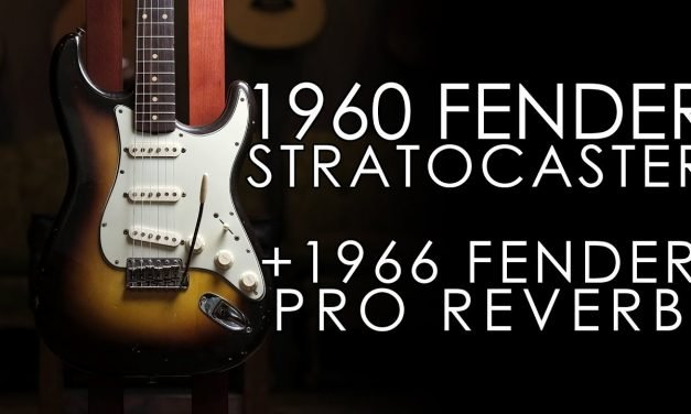 """Pick of the Day"" – 1960 Fender Stratocaster and 1966 Fender Pro Reverb"