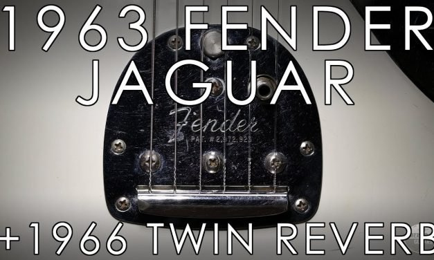 """Pick of the Day"" – 1963 Fender Jaguar and 1966 Twin Reverb"