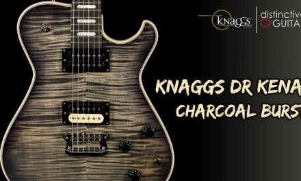 Knaggs Kenai Doug Rappoport Signature | Charcoal Burst