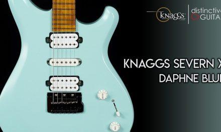 Knaggs Severn X Guitar | Daphne Blue HSH
