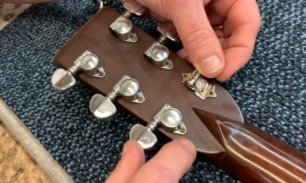 "In The Shop May 30th 2019, ""Upgrading Your Guitar Tuners"" 
