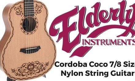 Cordoba Coco 7/8 Size Nylon String Guitar | Elderly Instruments