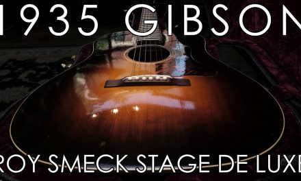 """""""Pick of the Day"""" – 1935 Gibson Roy Smeck Stage De Luxe"""