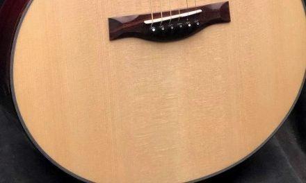 Matt's new Santa Cruz FS Custom – Moon Spruce & Honduran Mahogany