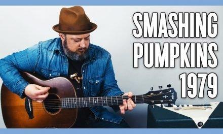 Smashing Pumpkins 1979 Guitar Lesson and Tutorial