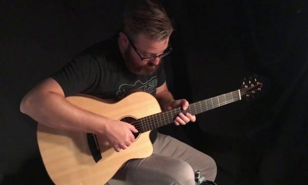Noemi The Wedge Sycamore Guitar at Guitar Gallery