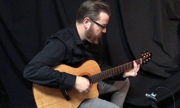 Mustapick Brazilian Rosewood Guitar at Guitar Gallery
