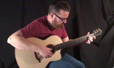 Lowden Custom Bog Oak Guitar at Guitar Gallery