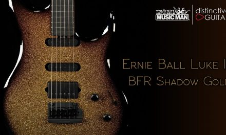 Ernie Ball Music Man Luke III BFR | Shadow Gold Sparkle