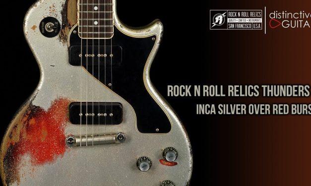 Rock N Roll Relics Thunders II DC | Inca Silver w/ P90's