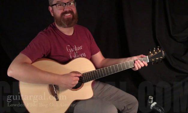 Lowden Bog Oak Guitar at Guitar Gallery