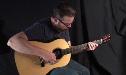 Laurent Brondel D1 Guitar at Guitar Gallery