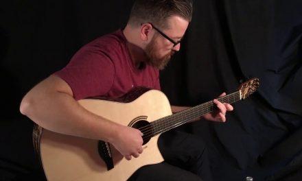 Kraut Moon Ebony Guitar at Guitar Gallery