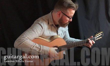 Lowden S35Jx  Custom Guitar at Guitar Gallery