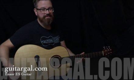 Chris Ensor ES Guitar at Guitar Gallery
