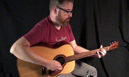 Hewett D Handmade Guitar at Guitar Gallery