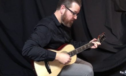 T Drew Heinonen Parlor Guitar at Guitar Gallery