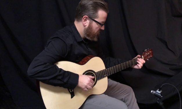 John Osthoff TREE Mahogany Guitar at Guitar Gallery (SOLD)