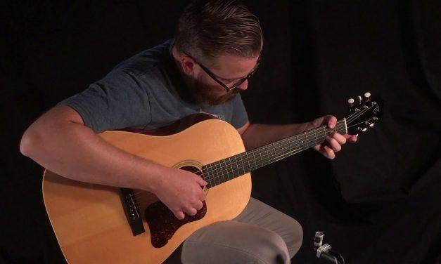 Santa Cruz SSJ Guitar at Guitar Gallery