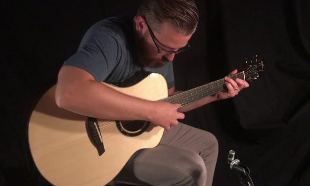 Caton Macassar Ebony Guitar at Guitar Gallery