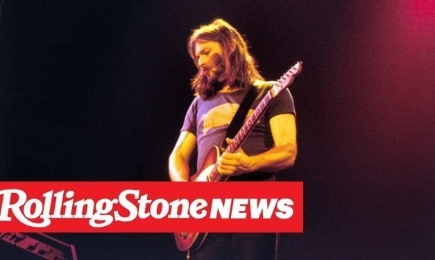 David Gilmour's Guitars Sell for Millions at Charity Auction | RS News 6/21/19