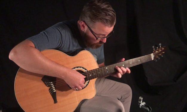 Klein Kauffman NAMM Guitar at Guitar Gallery