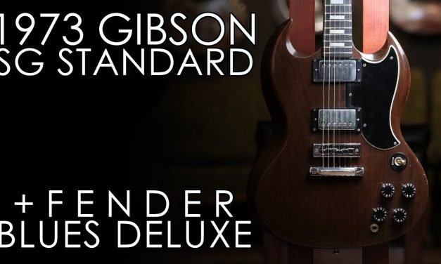 """Pick of the Day"" – 1973 Gibson SG Standard and Fender Blues Deluxe"