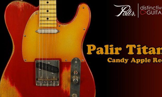 Palir Titan Classic | Candy Apple Red