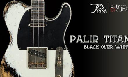 Palir Titan Classic | White Over Black