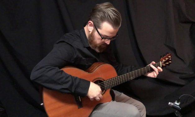 Tony Vines Artisan GC Guitar at Guitar Gallery