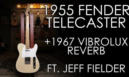 """Pick of the Day"" – 1955 Fender Telecaster and 1967 Vibrolux Reverb"