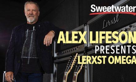 Alex Lifeson Mojo Tone Lerxst Omega Signature Amplifier Demo ????