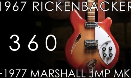 """Pick of the Day"" – 1967 Rickenbacker 360 and 1977 Marshall JMP MkII Fawn"