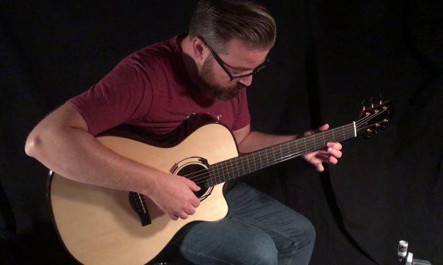 Kathy Wingert F cutaway Guitar at Guitar Gallery